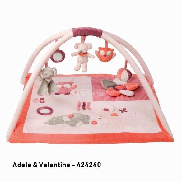 Nattou plüss játszószőnyeg - Adele and Valentine