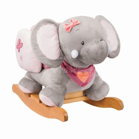 Nattou Adele plüss hintázó elefánt