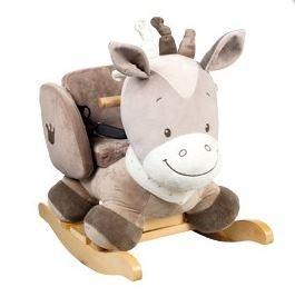 Nattou Noa plüss hintázó ló