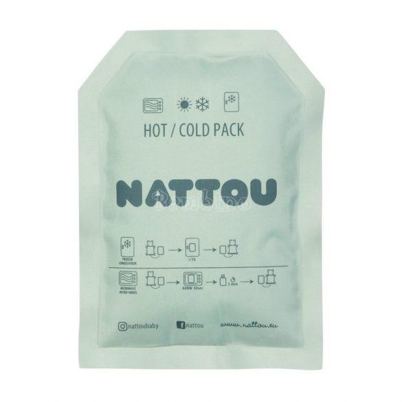 Nattou plüss szundikendő hideg/meleg terápiás gélpárnával (több fajta)