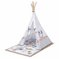 Kinderkraft Tippy játszószőnyeg - sátorral