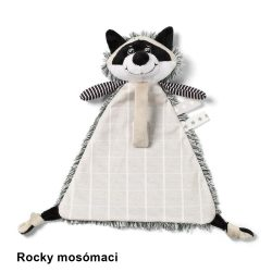 BabyOno szundikendő cumitartóval - Rocky mosómaci