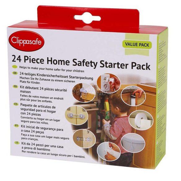 Clippasafe 24 db-os biztonsági készlet