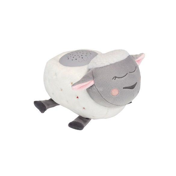 Badabulle zenélő bárány éjjeli fény projektorral