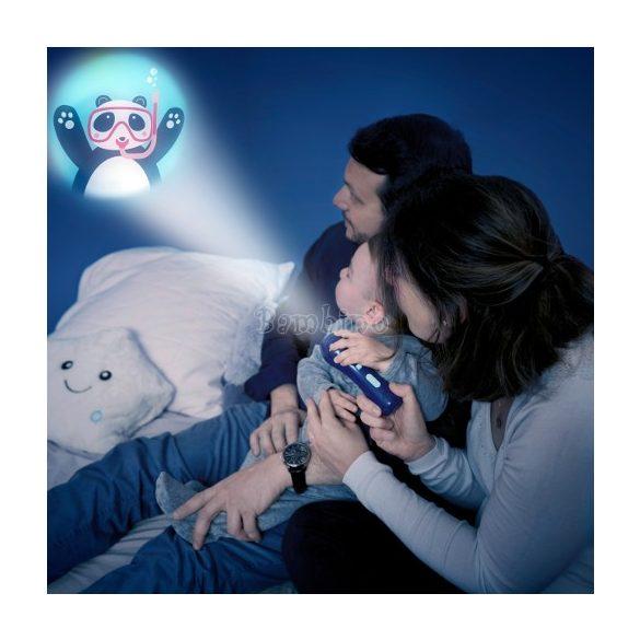 Badabulle zenélő projektoros éjjeli fény