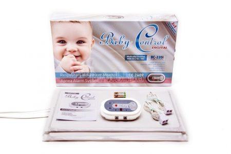 Baby Control BC220I légzésfigyelő ikreknek