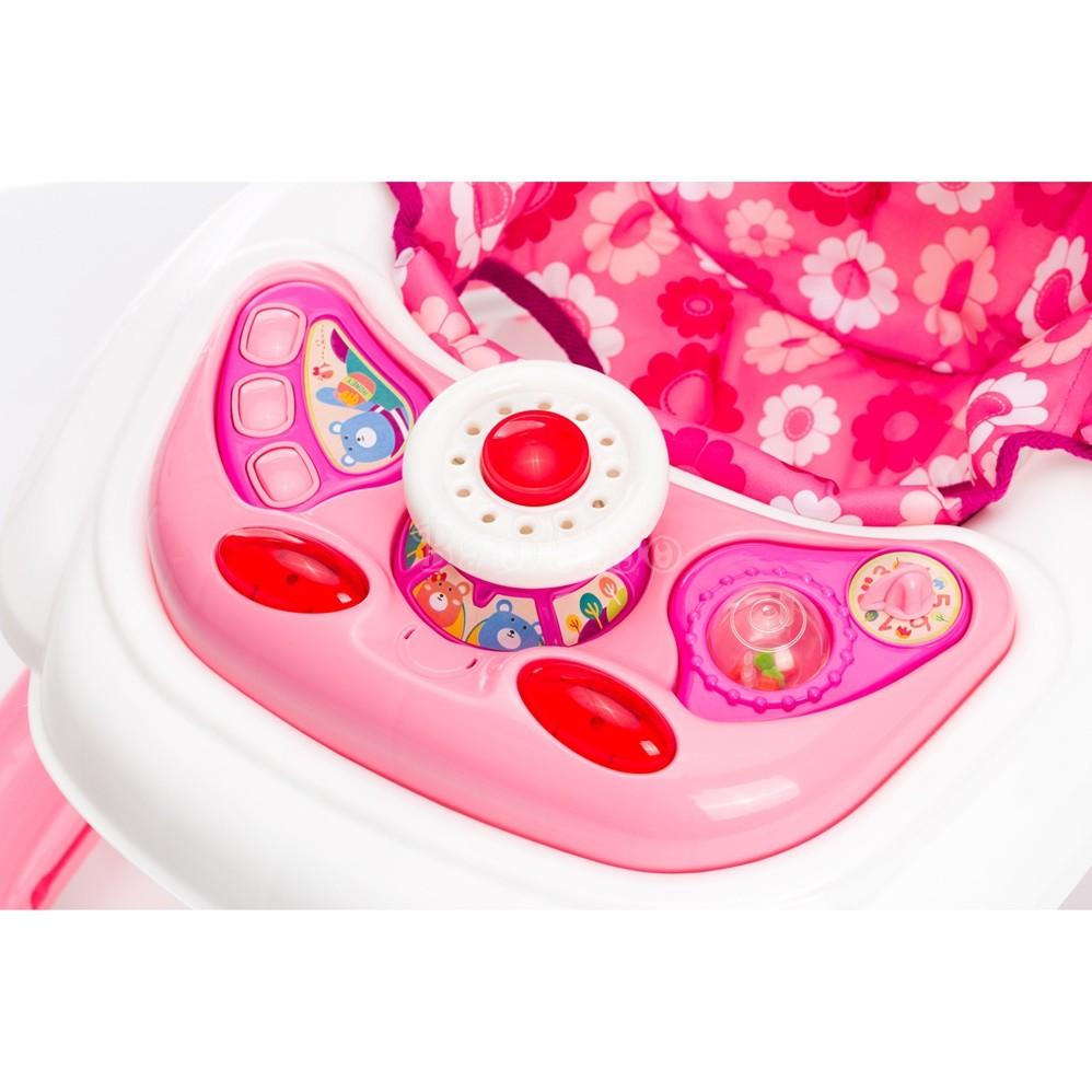 Fillikid bébikomp - rózsaszín - Bambino Babafutár be20187d84
