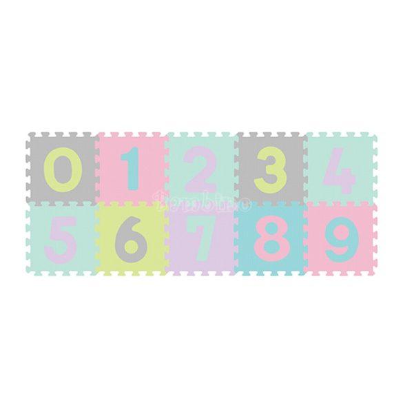 BabyOno habtapi puzzle számos játszószőnyeg pasztell