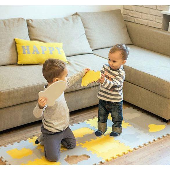 BabyOno habtapi puzzle játszószőnyeg - járművek