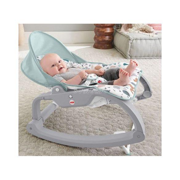 Fisher Price Nőj velem teknőcös deluxe fotel és rezgő pihenőszék
