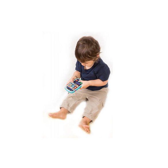 Játék okostelefon dallamokkal, fénnyel és hangrögzítővel