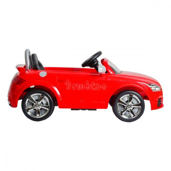 Buddy Toys Audi elektromos autó - piros