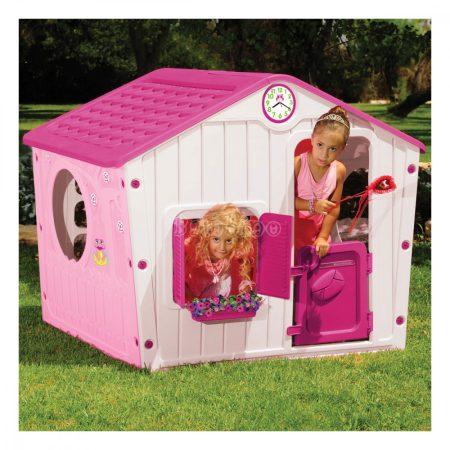 Buddy Toys falusi házikó-rózsaszín