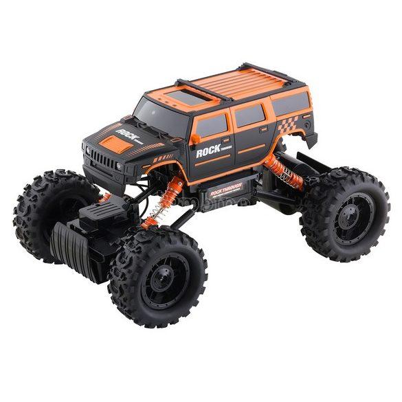 Buddy Toys Rock Climber távirányítós autó - fekete, narancs