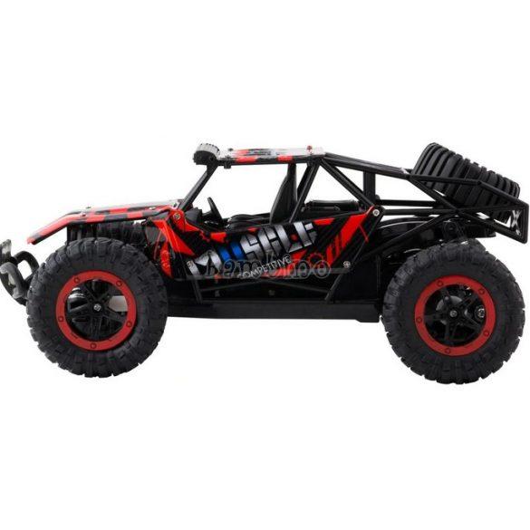 Buddy Toys Bulan távirányítós autó-fekete, piros