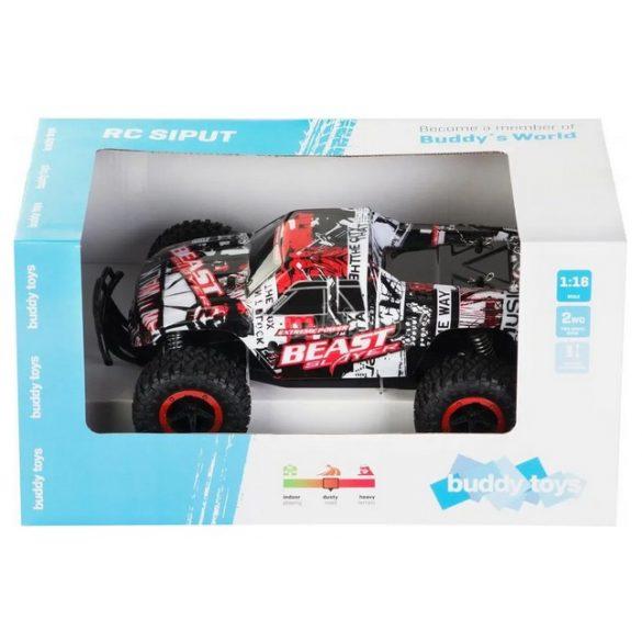 Buddy Toys Siput távirányítós autó-piros