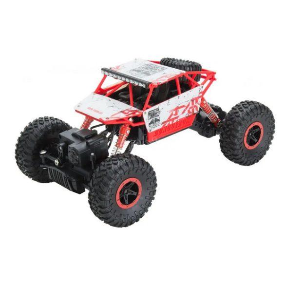 Buddy Toys sziklamászó távirányítós autó - piros
