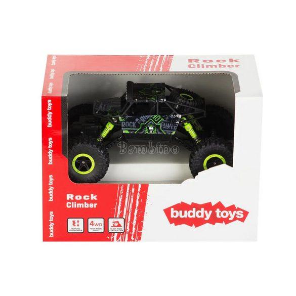 Buddy Toys sziklamászó távirányítós autó-zöld