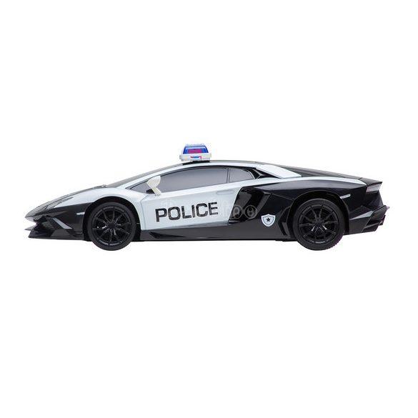 Buddy Toys rendőrségi Lamborghini távirányítós autó