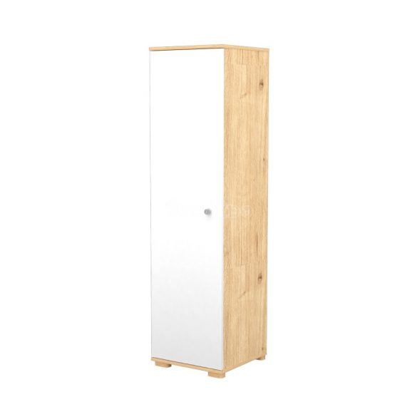 Timba Fanni mandula-fehér 1 ajtós álló szekrény