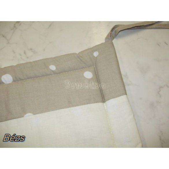Szafaris 4 részes 100 % pamut ágyneműgarnitúra bézs színben