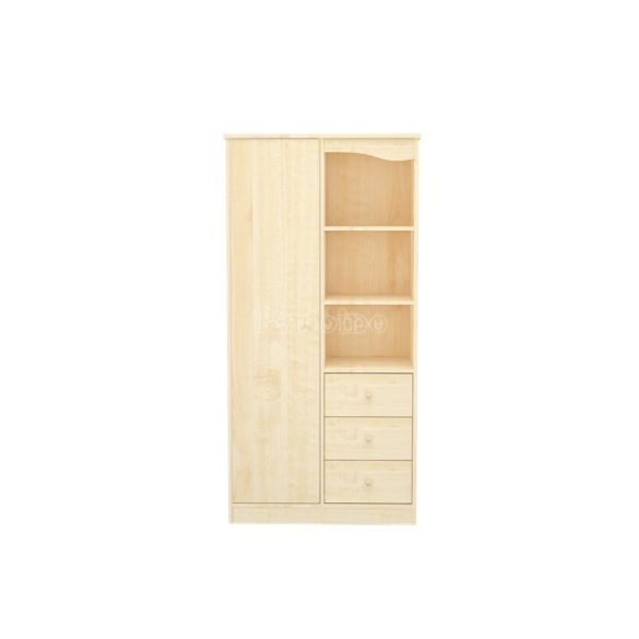 Timba Lili 1 ajtós 3 fiókos juhar álló szekrény