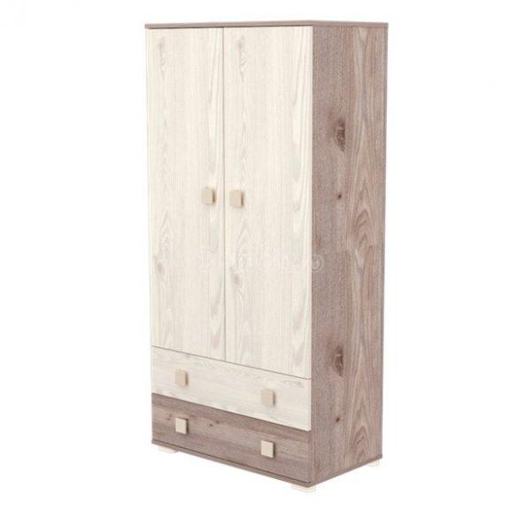 Timba Viki krém-fűz 2 ajtós 2 fiókos álló szekrény