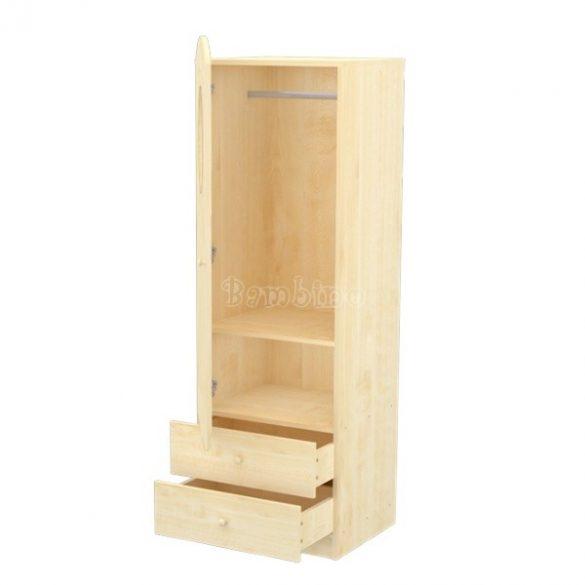 Timba Lili juhar álló szekrény bal elem