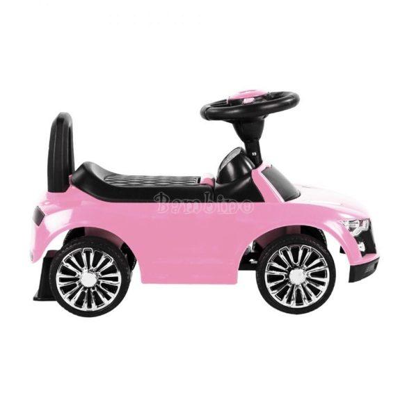 Rózsaszín autós bébitaxi