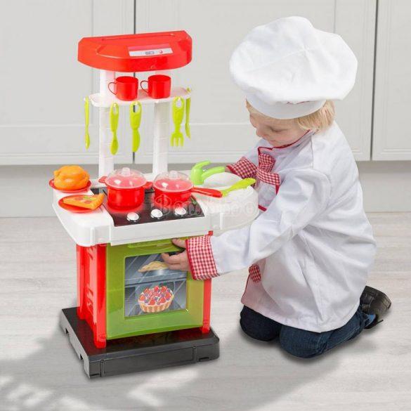 Smart Cook'n'Go játékkonyha 17 kiegészítővel