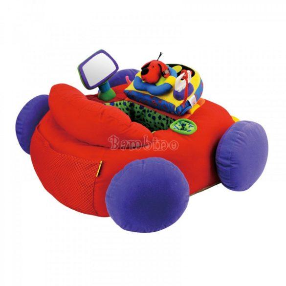 Ks Kids óriás plüss foglalkoztató piros bébiautó