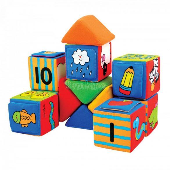 Ks Kids puha építőkockák