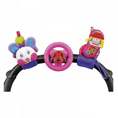 Ks Kids 3 részes bébijáték, rózsaszín