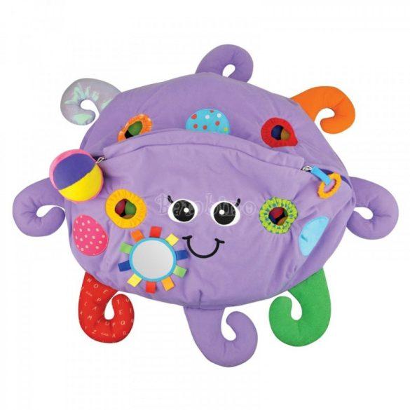 Ks Kids Polip plüss játszószőnyeg 60 db színes labdával