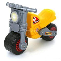 Sárga kismotor