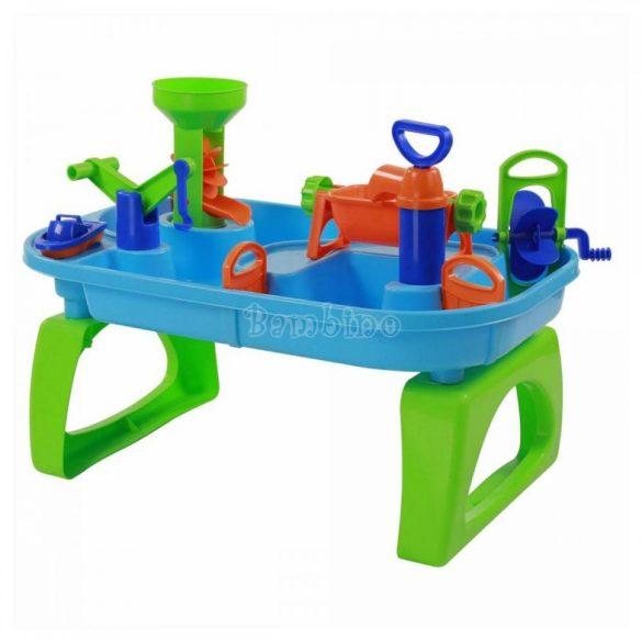 Vizes interaktív játékasztal