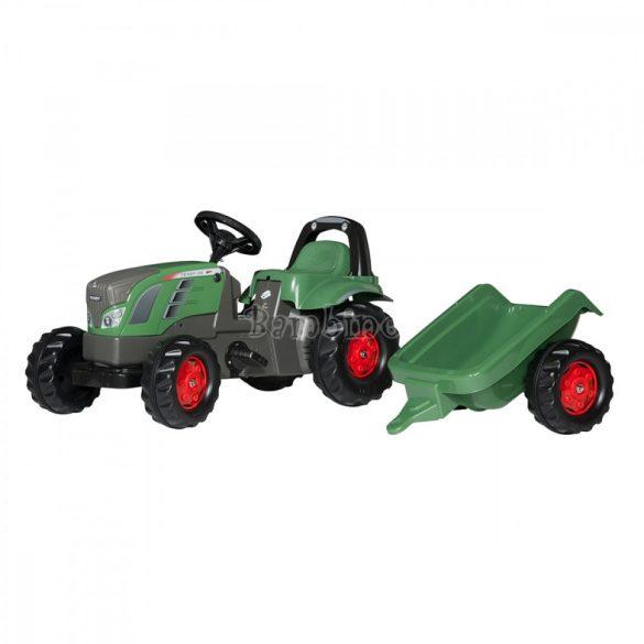 Rolly Kid Fendt Vario pedálos gyerek traktor utánfutóval