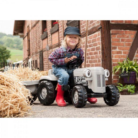 Rolly Kid Fergie pedálos gyerek traktor utánfutóval