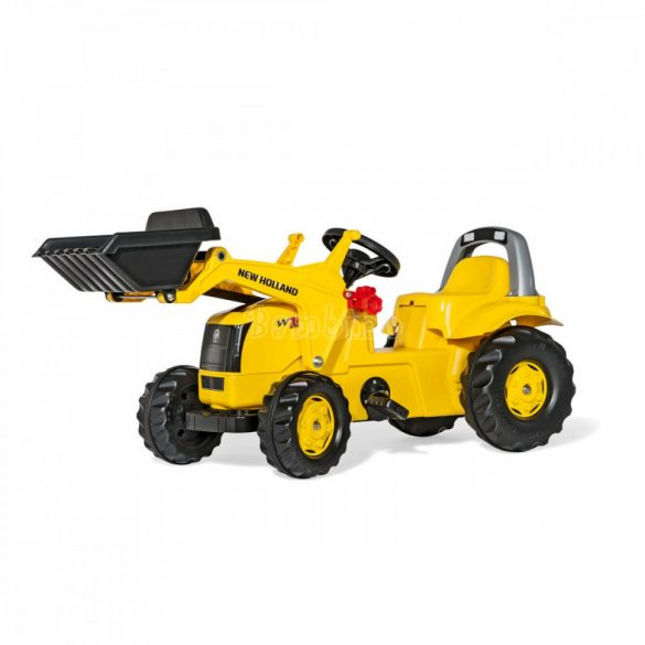 Rolly Kid New Holland Construction pedálos markolós gyerek traktor