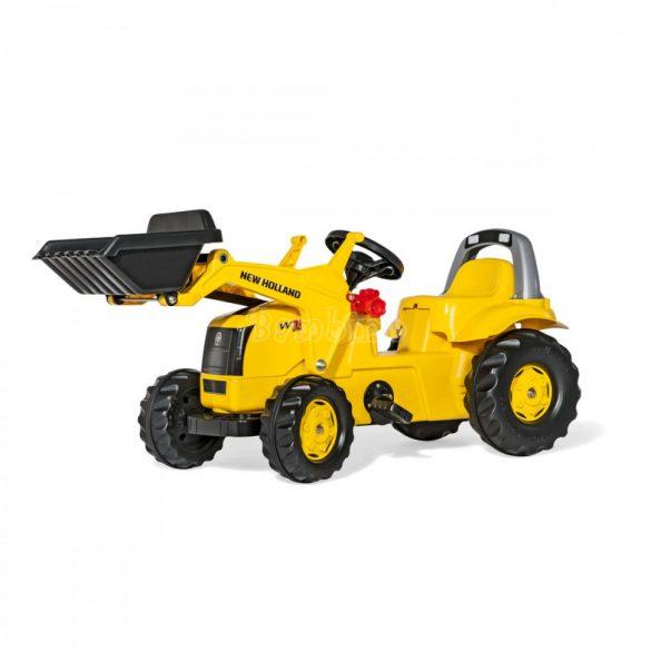 Rolly Kid New Holland Construction pedálos markolós gyerek traktor