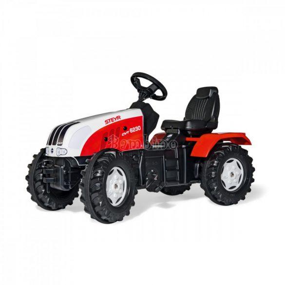 Rolly FarmTrac Steyr CVT 6230 pedálos gyerek traktor - állítható ülés