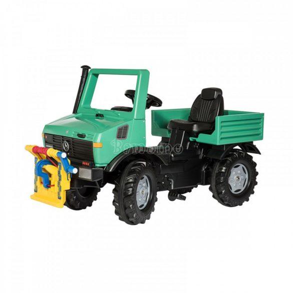 Rolly Unimog csörlővel ellátott játék traktor