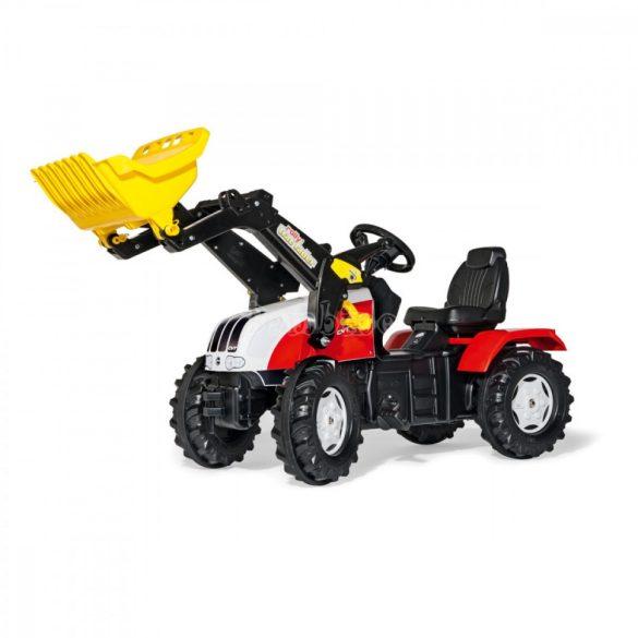 Rolly FarmTrac Steyr CVT 6230 gyerek pedálos  traktor - hókotróval