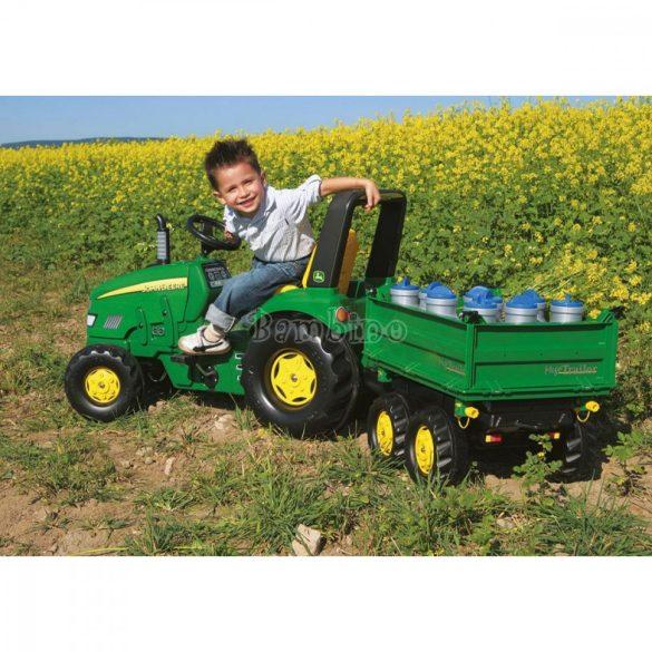 Rolly X-Trac John Deere gyerek pedálos markolós traktor