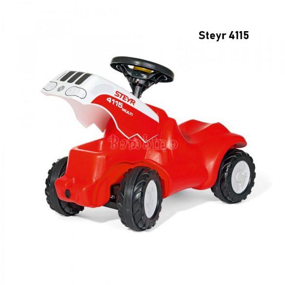 Minitrac Steyr 4115 lábbal hajtós traktor bébitaxi