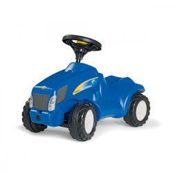 Minitrac New Holland lábbal hajtós traktor bébitaxi