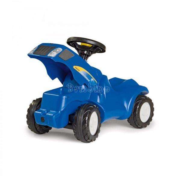 Minitrac New Holland T6010 lábbal hajtós traktor bébitaxi