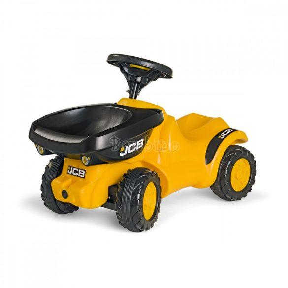 Rolly Minitrac JCB lábbal hajtós mini játék dömper - dudával