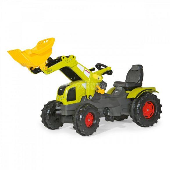 Rolly FarmTrac Claas Axos 340 gyerek pedálos markolós traktor - állítható ülés