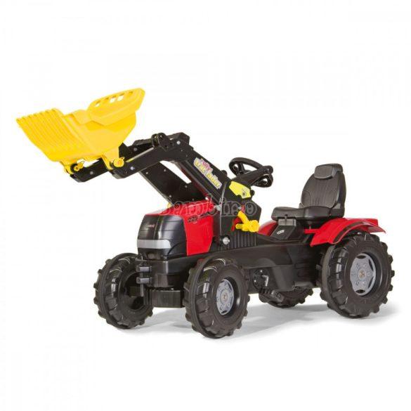 Rolly FarmTrac Case Puma CVX 225 gyerek pedálos markolós traktor - állítható ülés